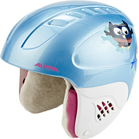 Alpina Carat Ski Helmet Kids happy-owles